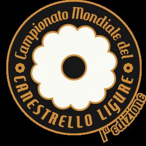 logo campionato mondiale del canestrello ligure bianco